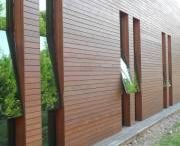 Novathermowood Pine Cladding (Clear Grade) / THE AESTHETIC OF NATURALITY Aside from the known traditional pine characteristic Novathermowood pine (Clear Grade) cladding offers distinctive appearance and has been specially obtained for those who want the texture of the pine tree but do not prefer the knotty structure of it.