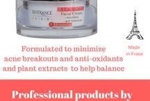Face Creams by Bio France Lab / Professional face creams made for esthetecians. Facial creams made in France. Facial moisturizers by Bio France Lab