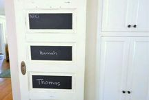 old door projects / by Gina @ Shabby Creek Cottage