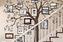 Семейное дерево стена