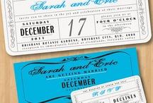 invitations save the dates