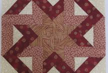 Patchwork quilt blocks