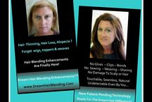 Womens Hair Thinning & Hair Loss / Hair Blending Enhancements Brand New Technology Forget wigs & hair replacement systems