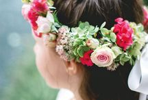 Flower Girls Ideas / Flower crown and outfit ideas for your flower girls
