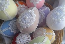Húsvéti diszek -tojások
