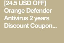 Orange Defender Antivirus 2 years