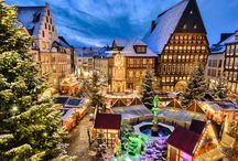 Towns that put snow globes to shame. / http://bit.ly/OrbHomePin