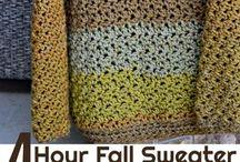 crochet pull ovet