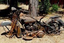 Motorbikes.. Barn Finds