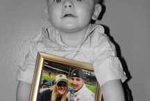 6 month baby pic ideas / by Tina Leonard