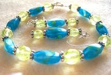 Beads & vintage jewelry trees & balls / by Karen Zimmerman