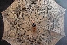 gehaakte paraplu