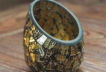 Accessoirisez / Des accessoires en céramique, en porcelaine, en bois, en métal, en bambou, en fibre naturelle.. Une décoration réussie est l'art de savoir assembler les matières et les couleurs pour un résultat parfait. Créez votre style!