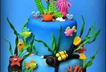 Gâteau mer
