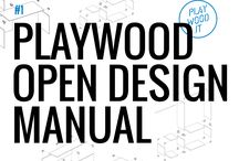 PlayWood Open Design Manual / Open design furniture projects to get inspired and start creating. | Dowload free designs at www.playwood.it