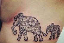 elefantes tatoo