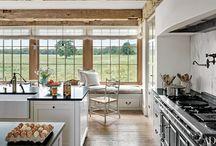 farmhouse kitchens.