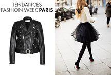 ⁞ Fashion Week PARIS ⁞ / Nos inspirations issues de la fashion week de Paris