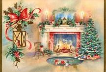 Merry Christmas decupage