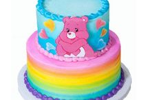 Care Bear/Rainbow themed party