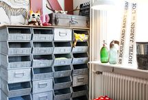 Storage / by Heidi and Hallbery