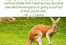 The Animals of Network Marketing / Animal versions of network marketing professionals according to Dr. J J Levine from Essanté Organics.