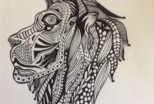 Tangles by Julie Johnson of julangart / Art