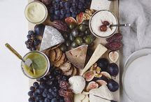 Cheese tray for evening social / cheese tray for a party
