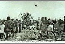 FENERBAHÇE FUTBOL TAKIMI 1907-1919'LAR