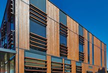Meyer Timber Office / See Meyer Timber headoffice in Sydney using our very own Weathergroove natural