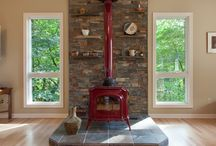 Mantle Ideas for Wood Stove