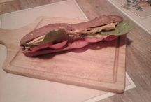 Home made sandwich