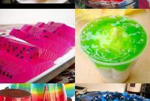 gelatinatas de colores