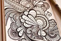 Doodles, Zentangles and Mandalas