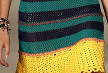 Knitting on Fashion shows