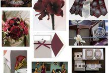 Marsala, Blush, Cream Wedding / Pantone Color of the Year 2015: Marsala and striking color combinations!