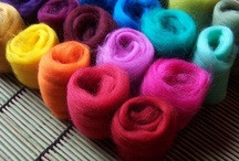 Wonderful Wool / Collection of Wool for Needle Felting