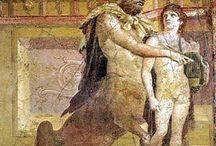 Roman frescos