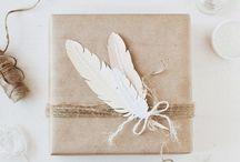 GIFT wrapping - GESCHENKE verpacken