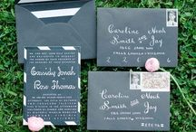 Invitations + Save the Dates
