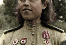 Soviet Female  soldiers