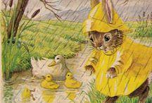 Cute childrens illustrations
