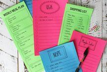 DIY | Organize your life & home