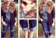 Plaid addict / Vintage plaid blazer thrifted, jcpenney shirt, gap jeans and aldo leopard pumps!