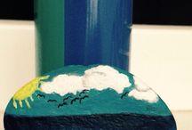 Painted stones pietre pictate