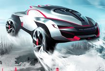rally car illust