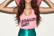 American Apparel features its first transgender model, GLAAD staff