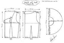 Corte e Costura / Dicas, moldes e passo a passo de blusas, vestidos, saias e outras peças de vestuário!