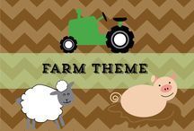 Farm theme preschool activities