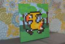 Art   Palmer's Pixels / 8 bit art for gamers by gamers!